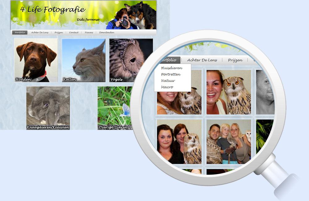 Referentie 4 Life Fotografie - Digital Frames
