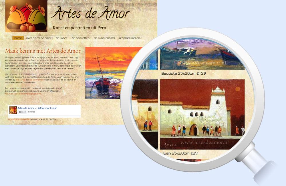 Referentie Artes de Amor - Digital Frames