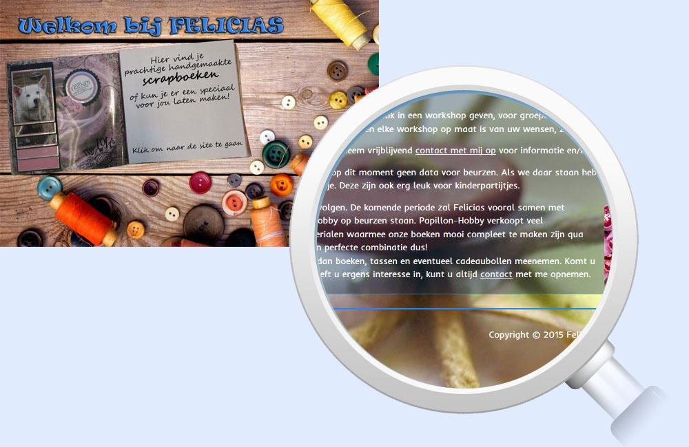 Referentie Felicias - Digital Frames